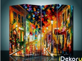 Sketsel Lukis The City Abstract